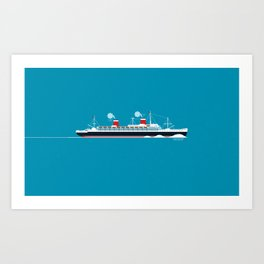 USS United States Art Print