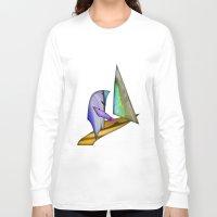 sailing Long Sleeve T-shirts featuring Sailing by Digital-Art