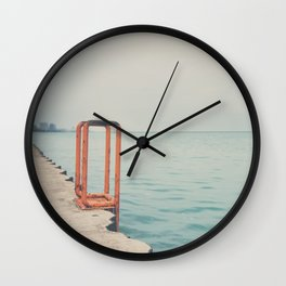 the orange steps ... Wall Clock