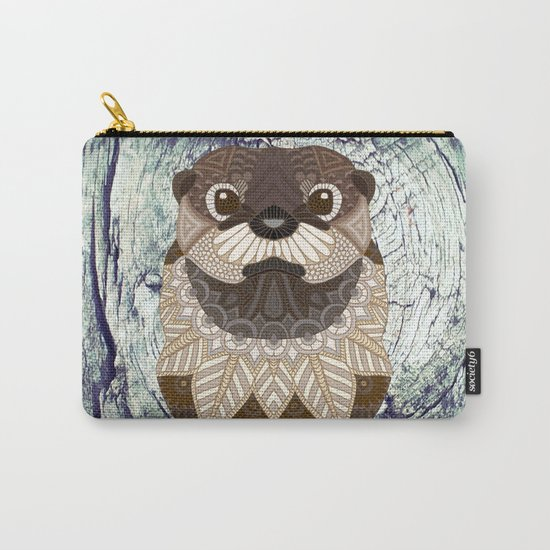 Ornate Otter Carry-All Pouch