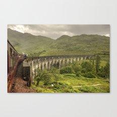Glenfinian Viaduct  Canvas Print