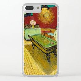 Vincent van Gogh - The Night Café Clear iPhone Case