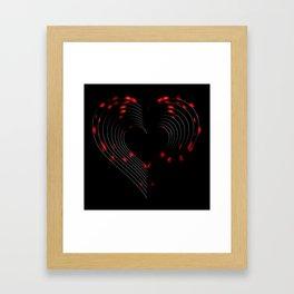 Light My Fire Framed Art Print