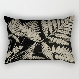 New England Ferns Rectangular Pillow