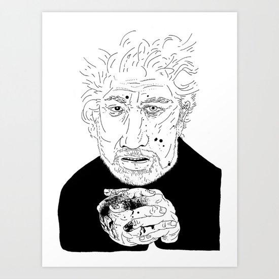 Michael Ondaatje Art Print