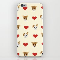 puppies iPhone & iPod Skins featuring Puppies by CharlieAmber