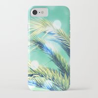 palm iPhone & iPod Cases featuring palm by laika in cosmos