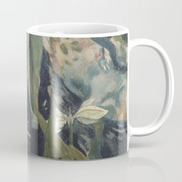 The white horse - Paul Gauguin (1898) Coffee Mug