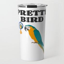 Pretty Bird Macaw Owners Travel Mug