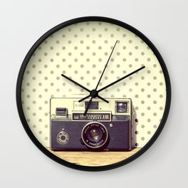 Vintage Camera Love: Kodak Instamatic! Wall Clock