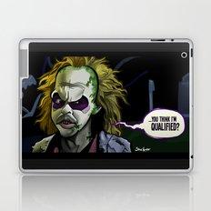 Qualified? Laptop & iPad Skin