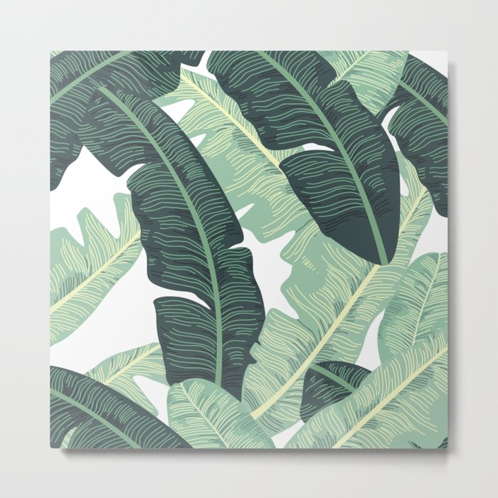 BANANA LEAVES 2 Metal Print
