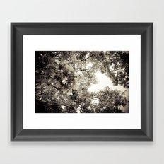 the tree of love Framed Art Print