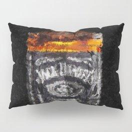 Jack Daniels Whiskey Wall Art, Print, Home Decor, Dorm Decor, Impressionism Pillow Sham