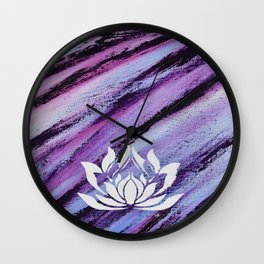 Wild Compassion Wall Clock