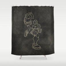 Teen Titans: Cyborg Shower Curtain