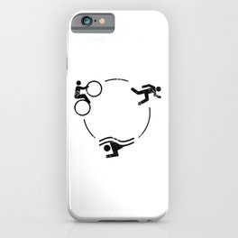 Triathlon Logo iPhone Case
