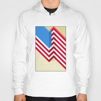 flag Hoodies featuring Flag by Ryan Winters