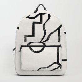 Beach Palm Backpack