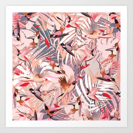 Tropical Mood II. Art Print