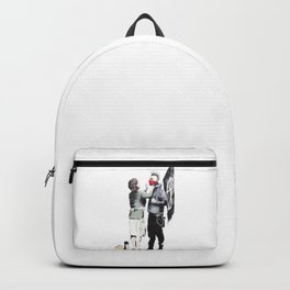 Banksy, Punk with mother Backpack