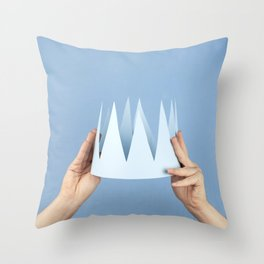 Coronation day Throw Pillow