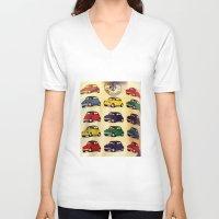 italian V-neck T-shirts featuring All Italian  by farsidian