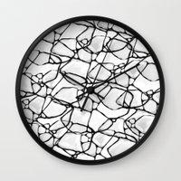 random Wall Clocks featuring Random by Cr7izbest