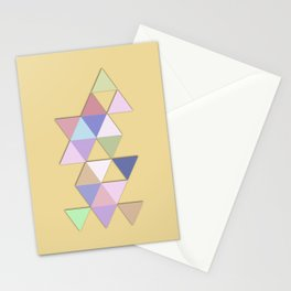 Abstract #809 Passages Stationery Cards