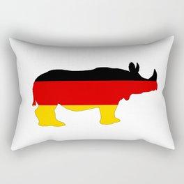 German Flag - Rhino Rectangular Pillow