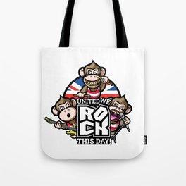 United we rock! Tote Bag