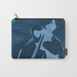 Jazz Contrabass Poster Carry-All Pouch