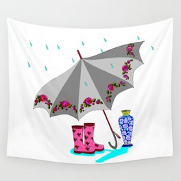 The Beauty of A Rainy Day Wall Tapestry