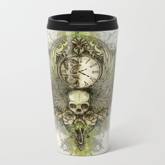 Wings Of Time Metal Travel Mug