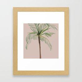 Palm Tree Bliss Framed Art Print