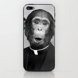 Reverend Chimp iPhone Skin