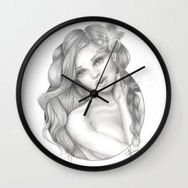 Ezmeralda Wall Clock