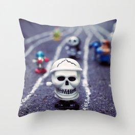 Death FTW Throw Pillow