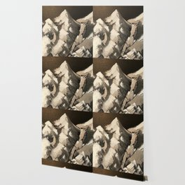 Silver Mountains Wallpaper
