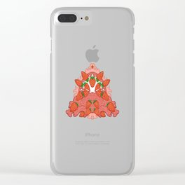 Sweet as a strawberry Clear iPhone Case