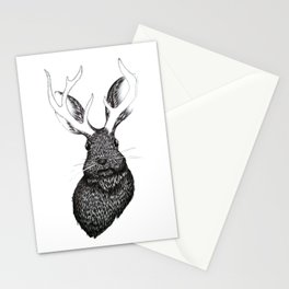 The Jackalope Stationery Cards
