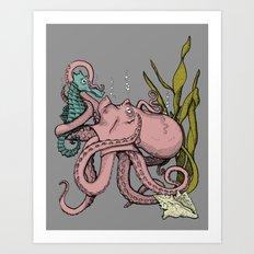 My Little Pony (Color) Art Print