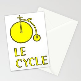 Le Cycle Stationery Cards