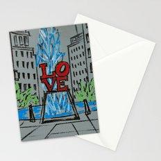 Little Love Park Sketch Stationery Cards