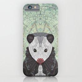 Ornate Opossum iPhone Case