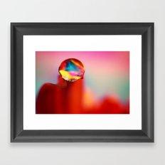 Just a Drop of Water Framed Art Print