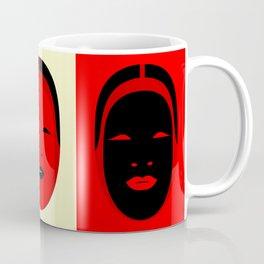 Noh, Ephemera (from Studio Glmn archives) Coffee Mug