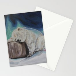 What Does the Polar Bear Dream? Stationery Cards