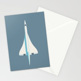 Concorde Supersonic Jet Airliner - Slate Stationery Cards