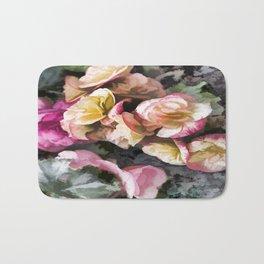 Begonias Bath Mat